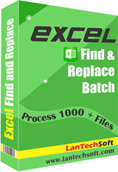 Excel Find and Replace - click for full size