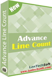 Line count tool adept at line, word, character and page count in different files