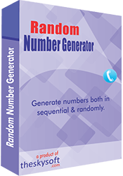 Click to view Number Generator Software 7.5.0 screenshot