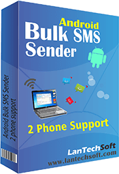 Assists in sending Bulk SMS through PC